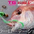 【渋い時こそ重要】タイラバゲームのエキスパート「田邊義雄」が実践!ジャッカル「TGビンビンスイッチ」の有効なカラーローテーション