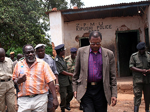 Kipushi border post in Solwezi