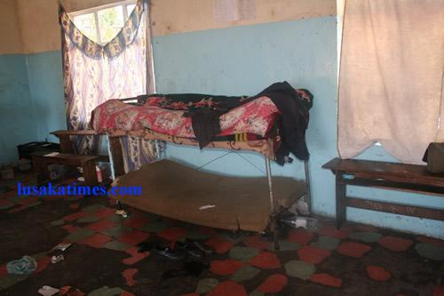File:A dormitory in a boarding school in rural Zambia