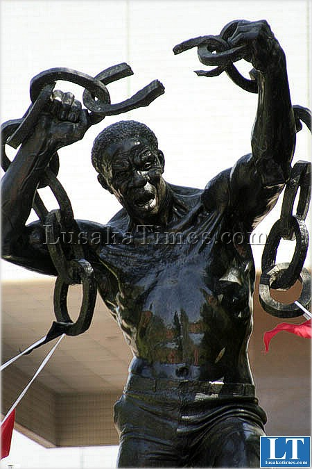 The Freedom Statue in Lusaka
