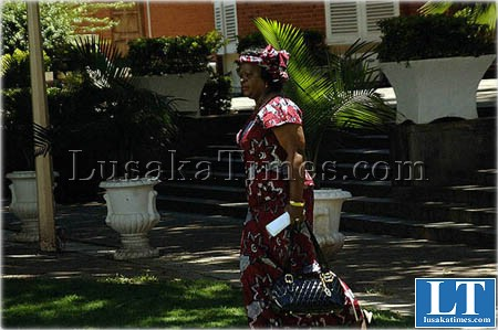 Zambian Ambassador to Ethiopia, Susan Sikaneta
