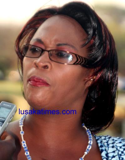 Munali Member of Parliament Mumbi Phiri