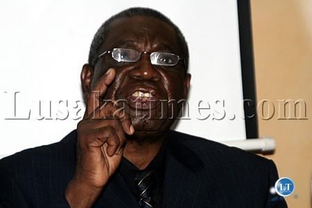 Former Prime Minister Malimba Masheke