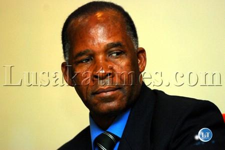 Deputy Speaker of the National Assembly Mkhondo Lungu