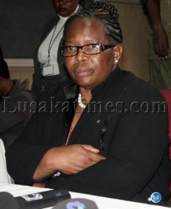 ECZ Chairperson Ireen Mambilima