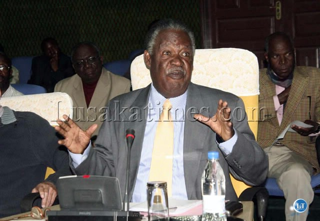 Patriotic Front leader Michael Sata launches a verbal protest against publication of certain periodicals