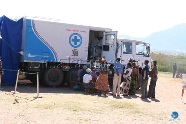 Zambia : Shiwang'andu residents happy with mobile hospital