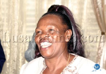 Gender Minister Nkandu Luo