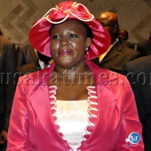 Opposition MMD Spokespern Dora Siliya