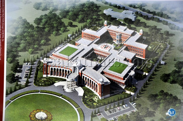 Artist impression of the New State House that was to be built