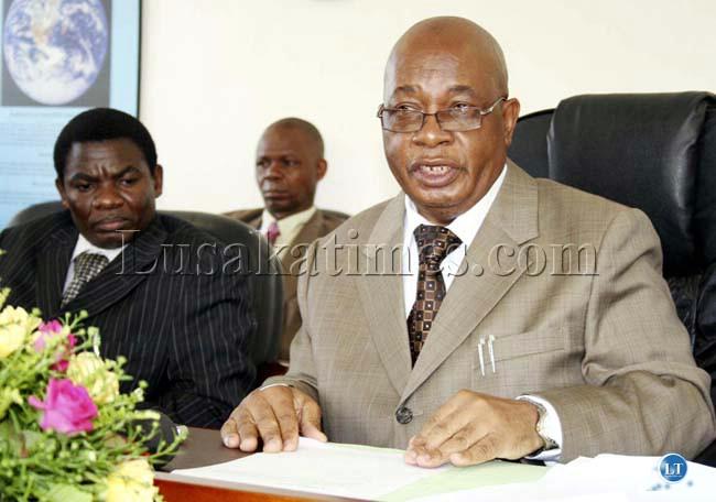 Education Minister John Phiri