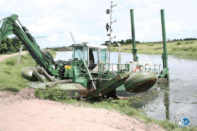 Government has commenced works on the  canals at Nayuma harbour at Limulunga Royal Village in Mongu  ahead of this year's Kuomboka Ceremony of the Lozi speaking people at a total cost of K100 million.