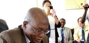 Minister of Education John Phiri