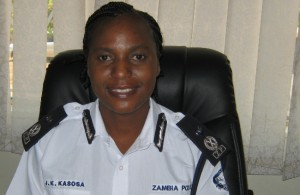 Lusaka Province Commissioner of Police, Joyce Kasosa