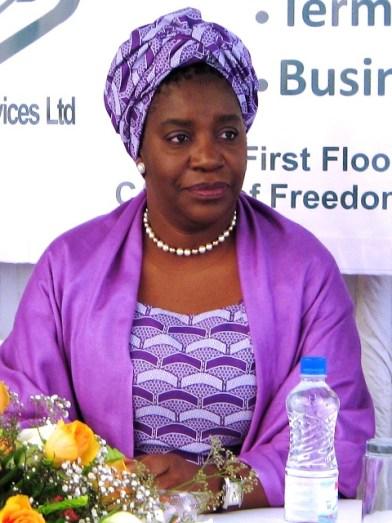 Ms Chileshe Mpundu Kapwepwe - IMF Alternate Executive Director - Africa Group 1 Constituency