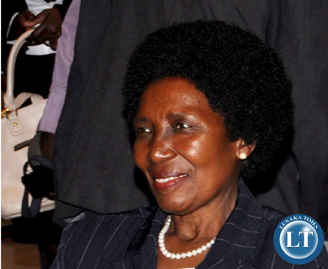 GENDER Minister Inonge Wina