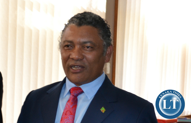 Kabwata Member of Parliament GIVEN LUBINDA