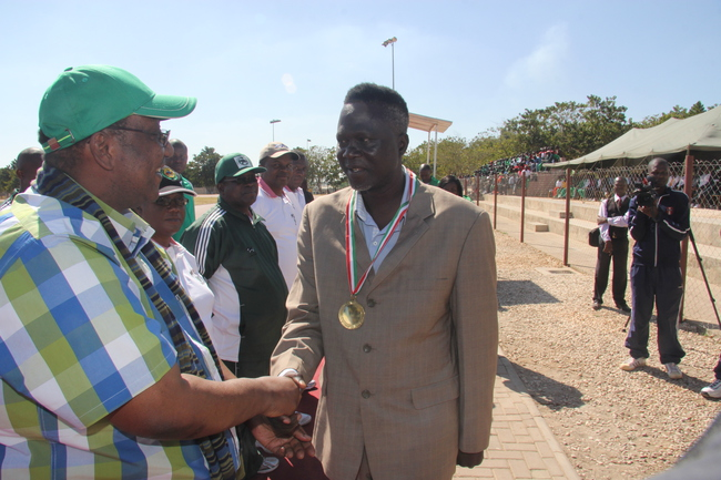 FILE:  Anthony Mwamba  during the Zambia Defence Day at OYDC