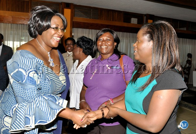 Zambia's First Lady Dr Kaseba