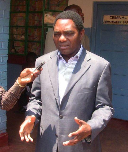 UNITED Party for National Development (UPND) President Hakainde Hichilema
