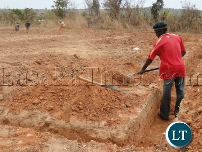 Construction of Paul Mushindo University in Lubwa Mission of Chinsali District in Muchinga Province has commenced. Contractor COVEC Zambia Limited is already on site and construction of the contractor's house and offices has started.