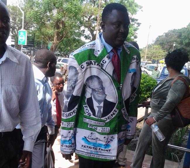 Lusaka Province PF youth chairman  Kennedy Kamba