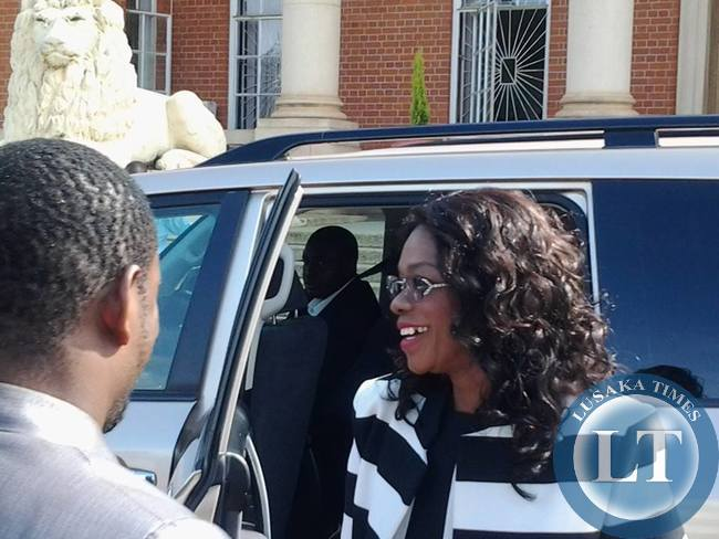 FILE: Masebo arriving at the Supreme Court for the tribunal hearings