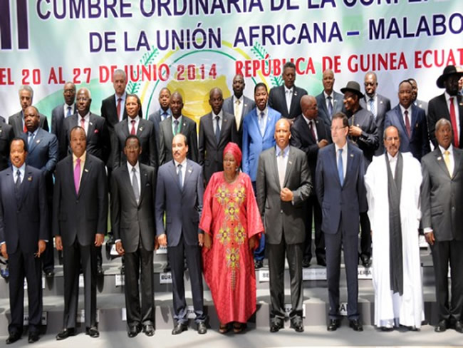 23 rd Ordinary Session of AU heads of State and government in Malabo June 2014
