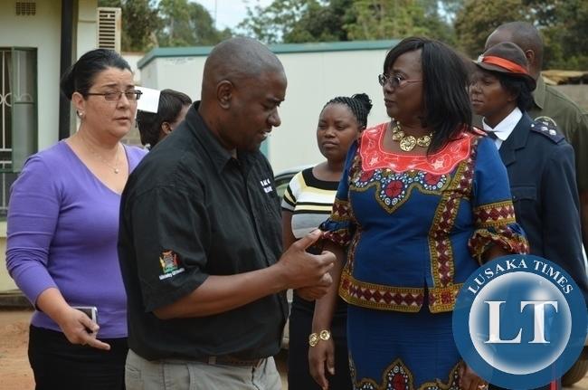 Community Development, Mother and Child Health minister , Emerine Kabanshi,