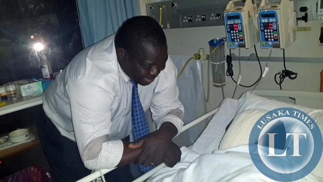Minister Kambwili with Kazimu 2