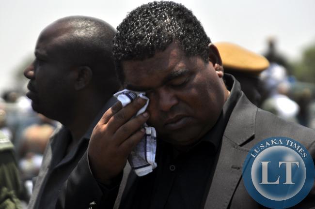 Former Lusaka Province Minister Obvious Mwaliteta