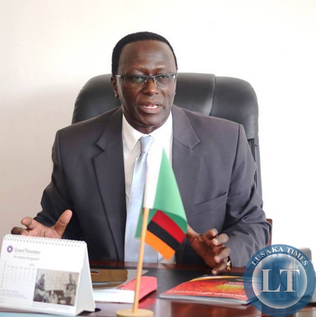 Ministry of Information and Broadcasting Services Permanent Secretary Chanda Kasolo