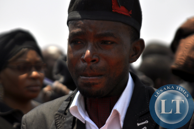 FILE: National Revolution Party president Cosmo Mumba mourns Sata