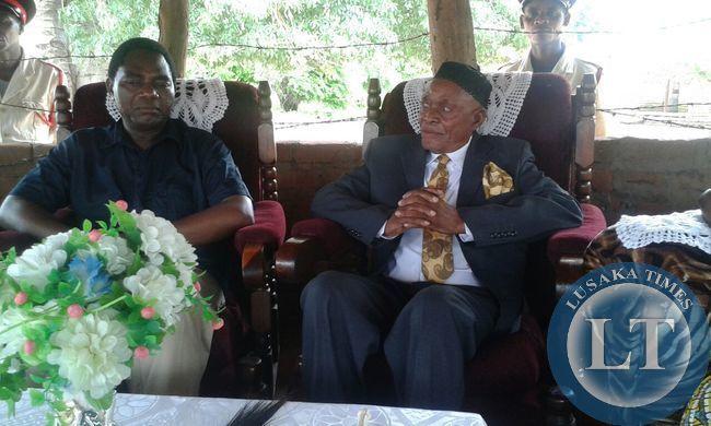 HH meets Chief Msoro