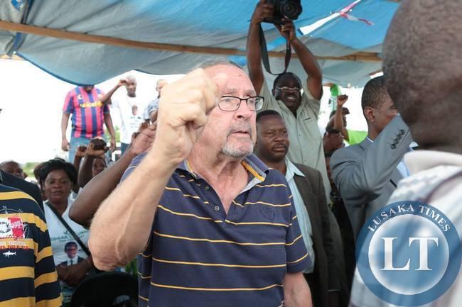 Guy Scott at PF Rally