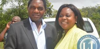 HH with Dr Maureen Mwanawasa