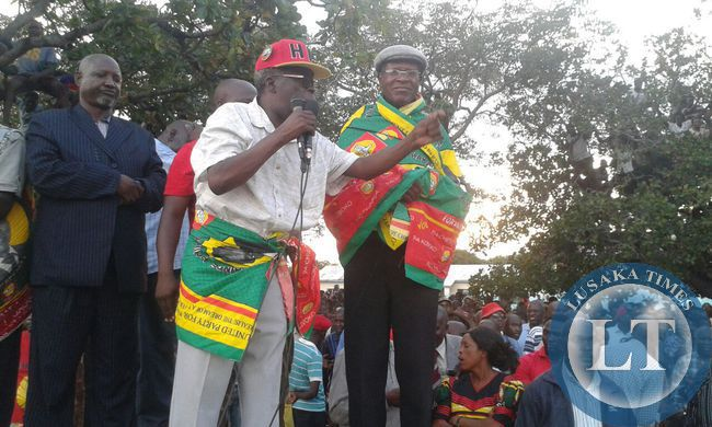 PF Provincial Chairman Kenneth Namutulo resigns from PF to join UPND