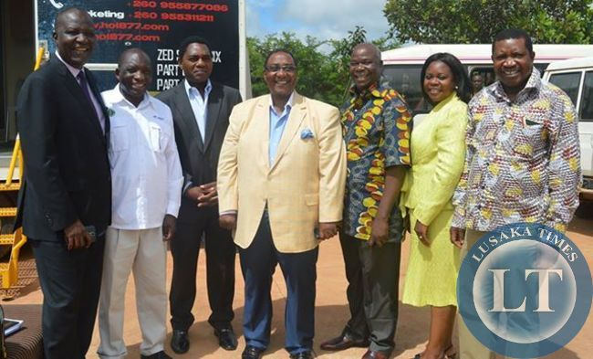 UPND Alliance partners pose for a solidarity photo