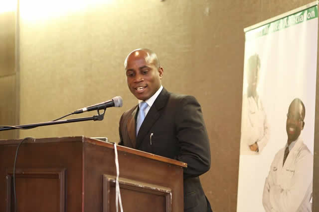 ZMA president Dr. Aaron Mujajati