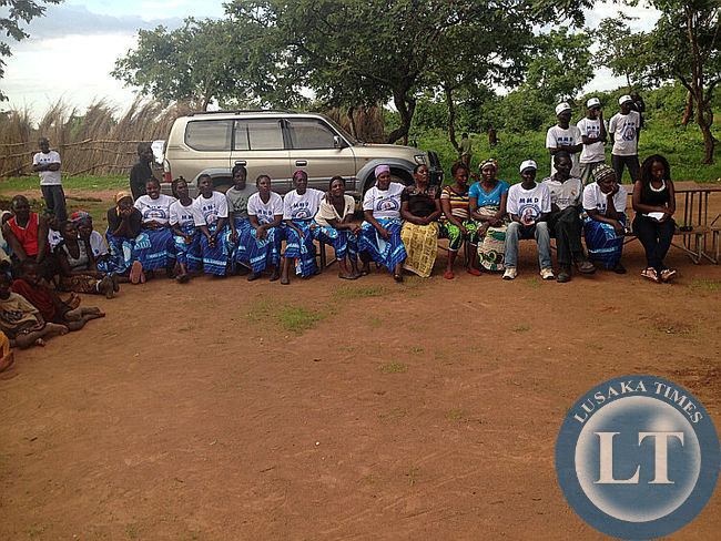 MMD grassroot meeting with Dr.Nevers Mumba at  at M'chacha village