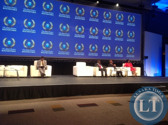 Dr Mumba seated second from left awaiting to address the summit