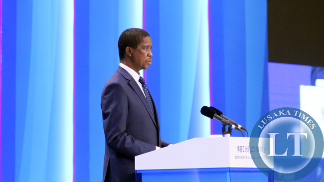 President Edgar Lungu address at Asian Boao Forum in China on Saturday for the Annual Summit 28-03-2015 -PICTURE BY EDDIE MWANALEZA/STATEHOUSE.