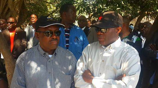 Wynter Kabimba and The Post owner Fred M'membe