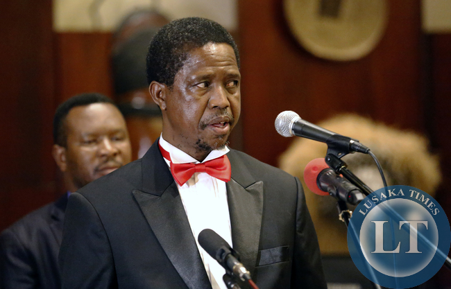 President Edgar Lungu  addreess Law association of Zambia 2015 annual General Meeting and Gala Dinner at Zambezi Sun Hotel In Livingstone on Saturday PIcture By EDDIE MWANALEZA/ STATEHOUSE.