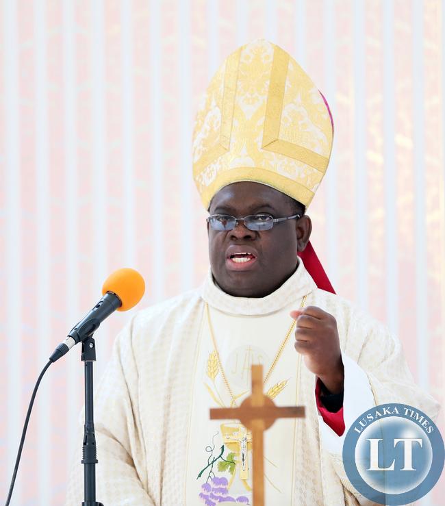 Bishop Charles Kasonde - Solwezi