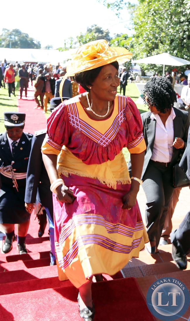 Mrs Inonge Wina Vice President at African Freedom day