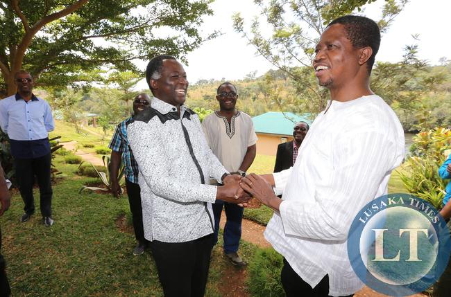 ichard Kapita  Greets President Lungu in Mwinilunga
