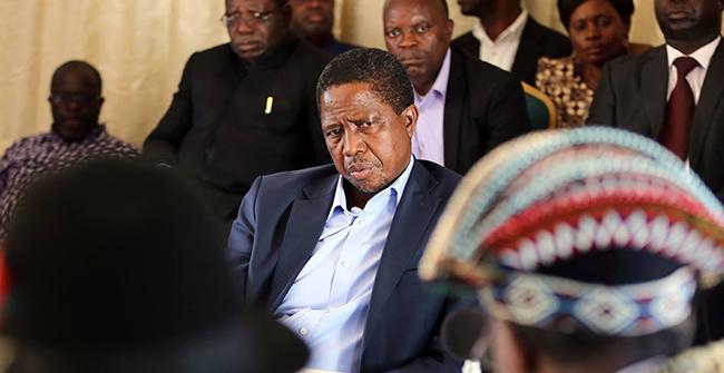 President Edgar Lungu Meets Luvale-Lunda Chiefs In Zambezi.