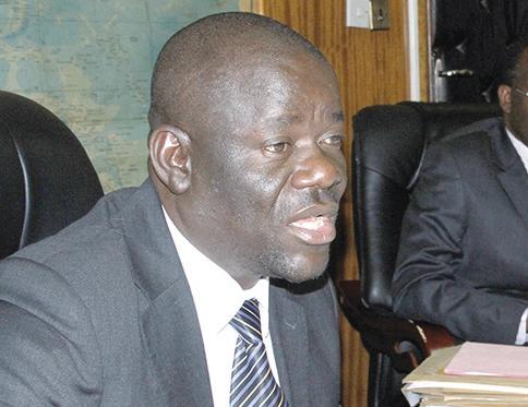 Minister of Home Affairs Davis Mwila