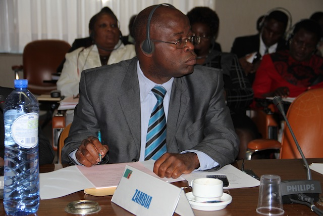 Hon-Charles-Kakoma-at-the-ACP-EU-Joint-Parliamentary-Assembly-in-Brussels-picture-by-Lambwe-Kachali